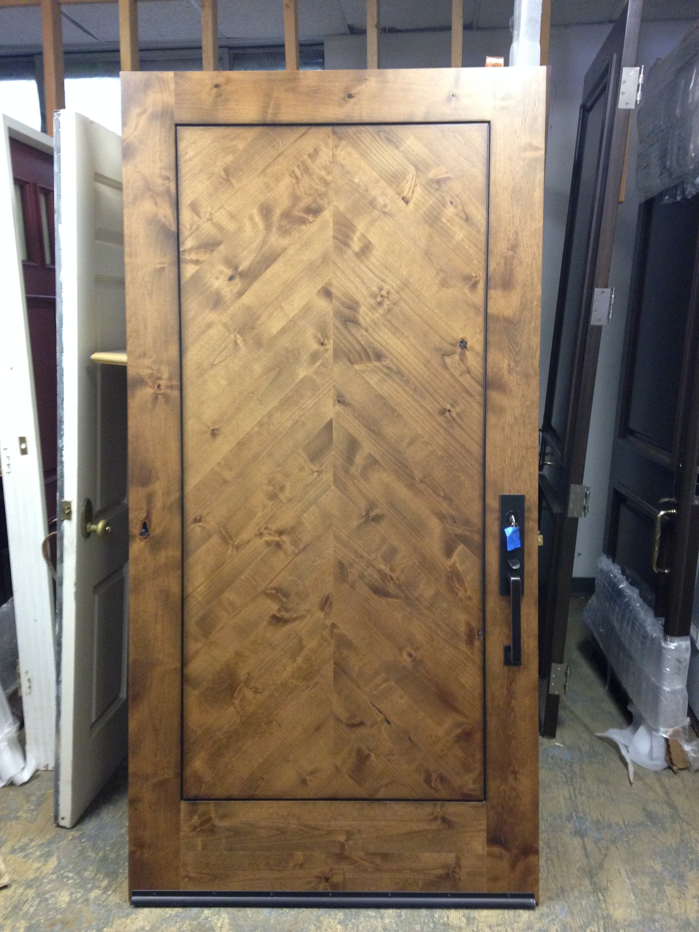 size custom prehung radius door and oak doors specifications louverd arch louvered customers built to exterior amish top round interior