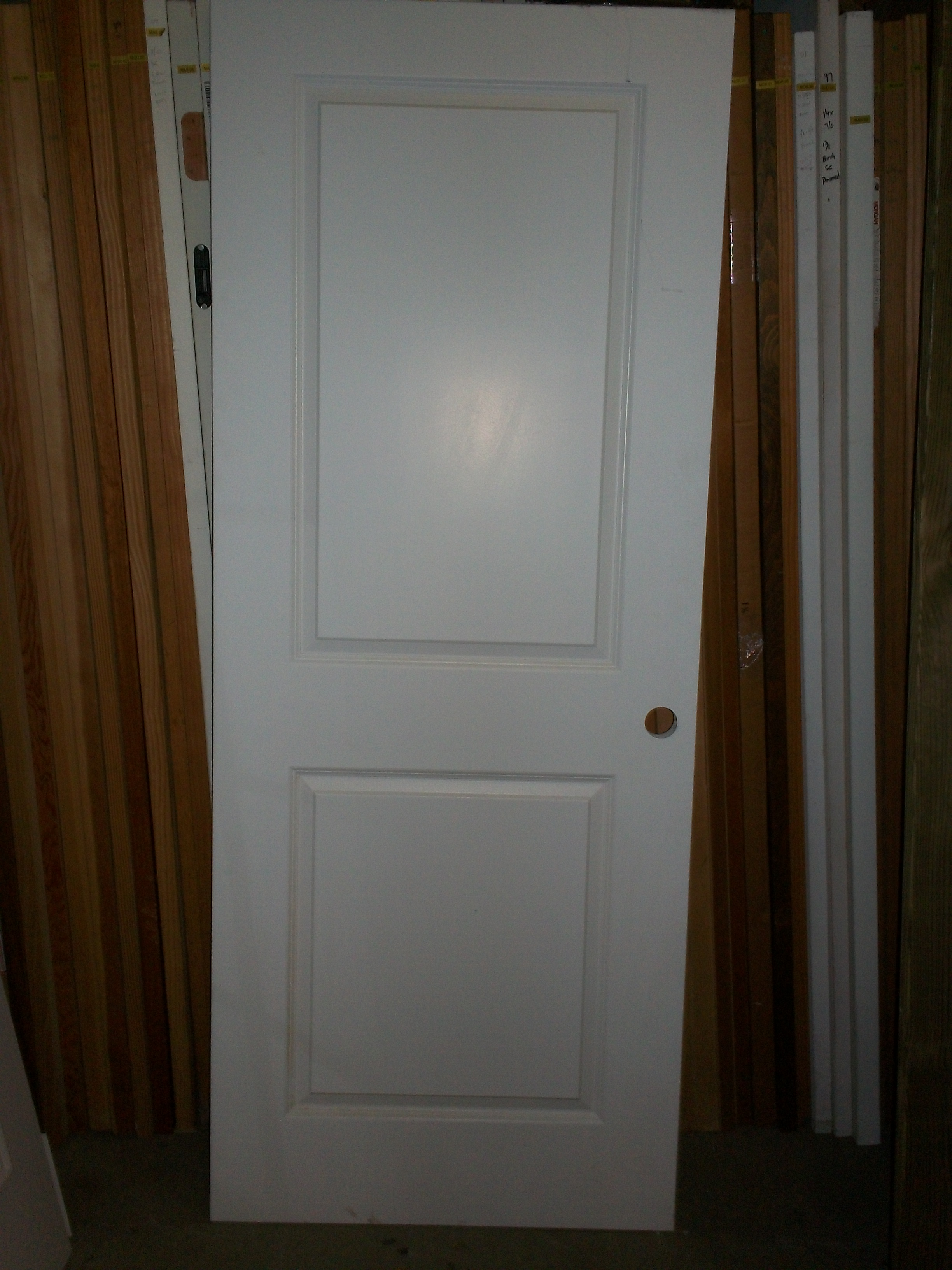 White interior doors 3 panel - Mas 35