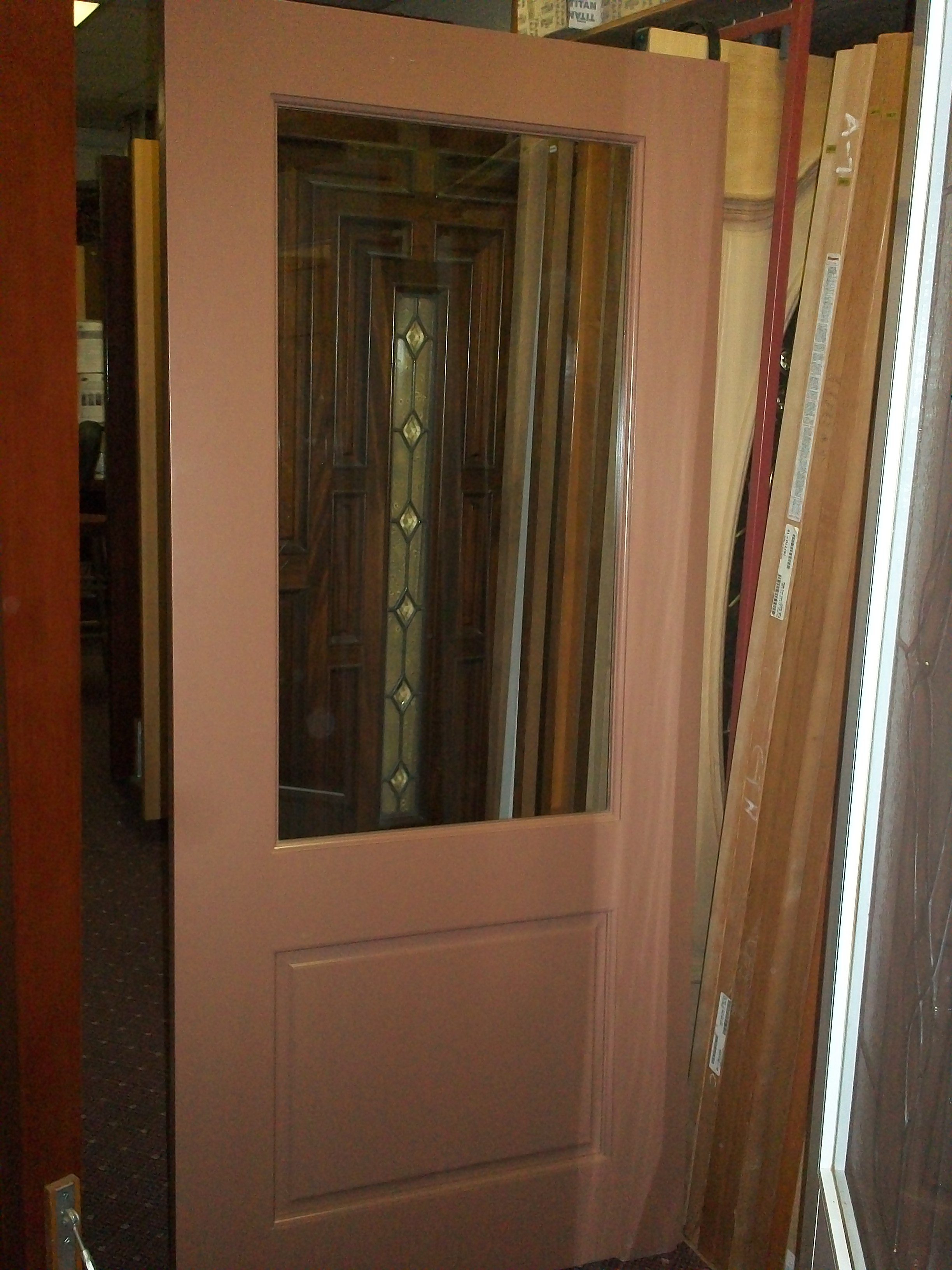 Single Glazed Clear Glass. Solid Poplar Door Painted Taupe. This Door Is Great For A School Or Office. This Is Just One Door We Have 10 Of Them! : this door - Pezcame.Com