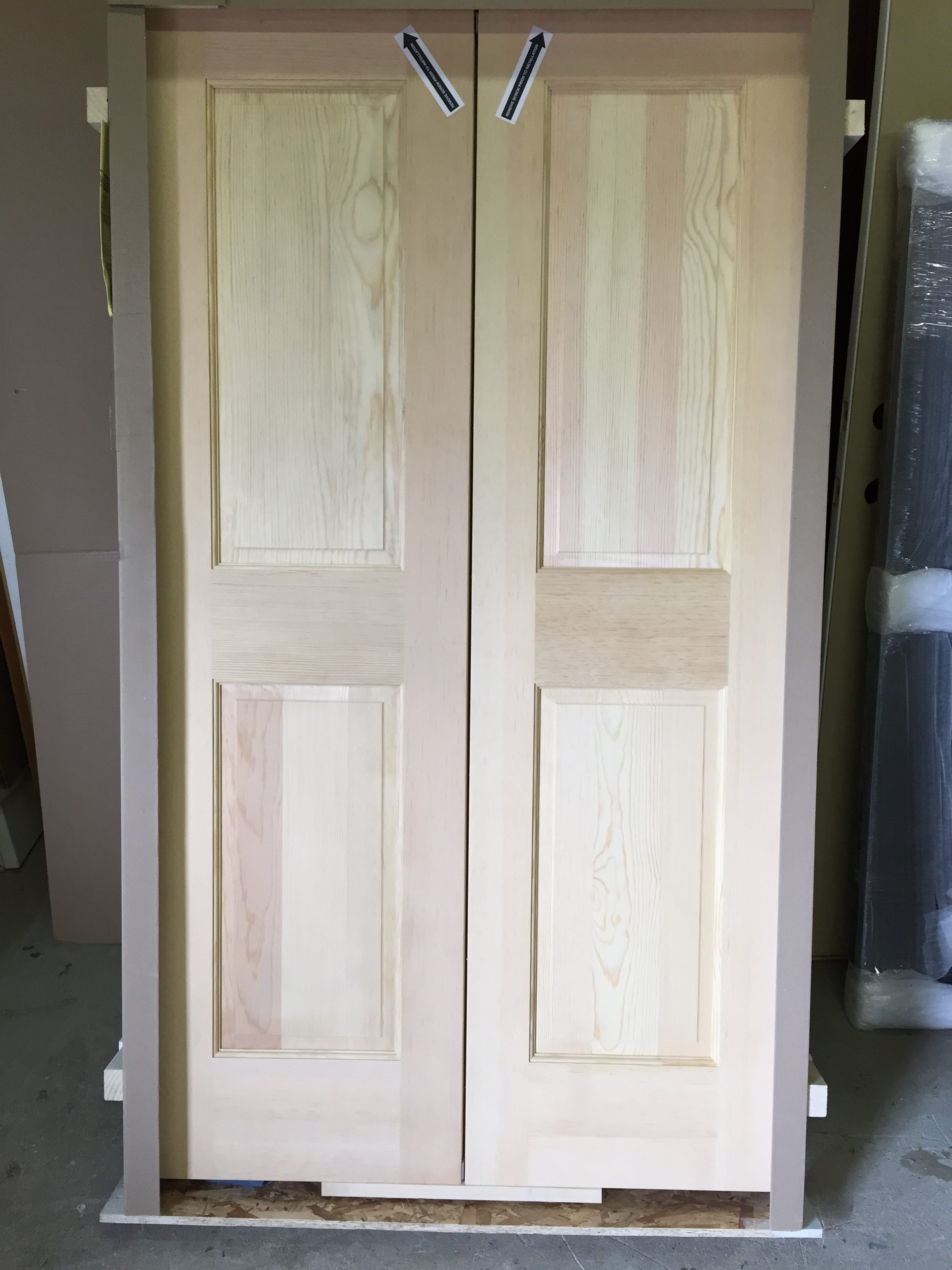 Custom size interior doors olde world door and sunshine for Exterior french door sizes