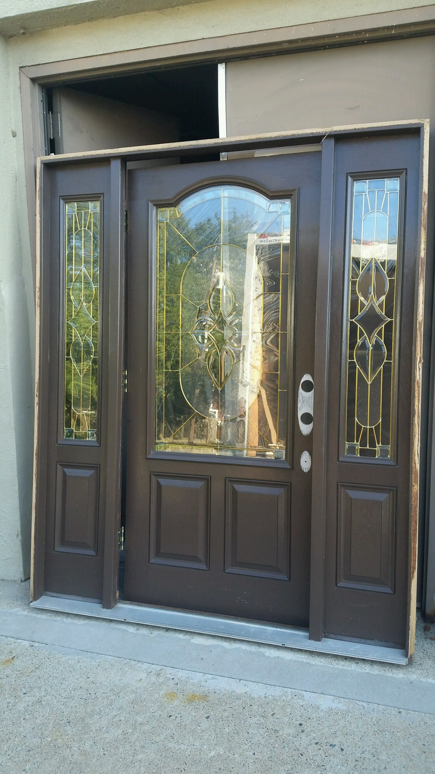 2681 #4F6C7C Selling For $$689.00 As Is. This Is A $5 000.00 Value!!   WAS JUST  save image Simpson Fir Doors 41971508